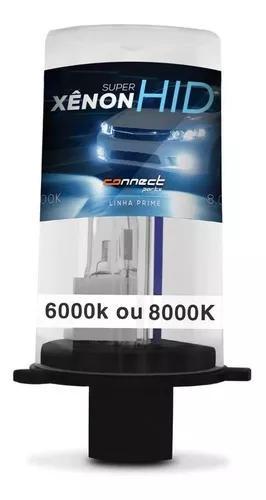 Lâmpada Xenon Reposição 6000k 8000k H1 H3 H4 H7 H11 Hb3