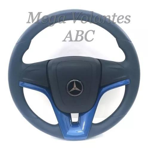 Volante Mercedes Benz Chaveta 1620 1113 608 Camaro Azul
