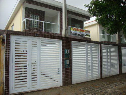 Casa Sobreposta Térrea Nova À Venda Em Santos