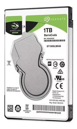 Hd 1 Tera Seagate St1000lm048 Notbook Ps4 Xbox One Ps3 Novo!