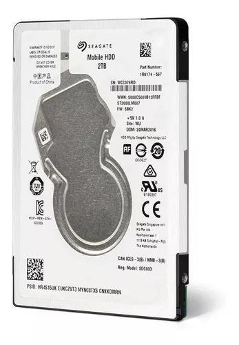 Hd 2tb Notebook Ps4 Xbox One Mac Ultra Seagate Sata Lacrado