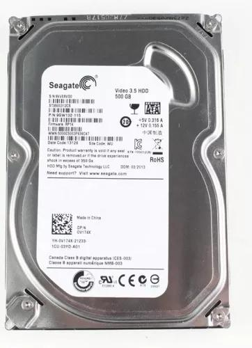 Hd 500gb Sata Seagate 6gbs Pc Dvr Novo Lacrado