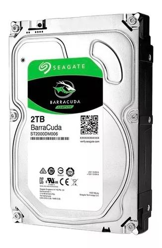 Hd Interno Seagate Desktop Barracuda 2tb Sata 64mb 3.5 7200r