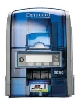 Impressora Datacard Sd360 + 2 Ribbon Colorido + 100 Cartões