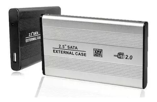 Kit 10 Cases Gaveta Hd Sata Externo 2.5 Usb Notebook
