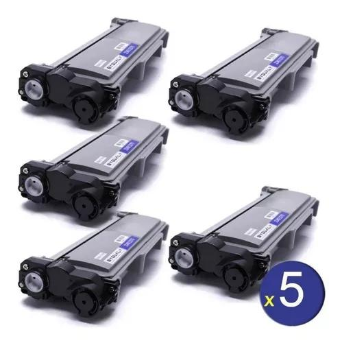 Kit Com 5 Toner Compativel Brother Tn2370 Tn2340 Tn660 L2540