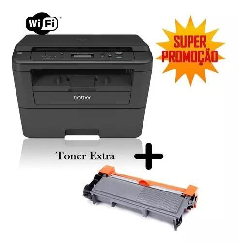 L2520dw Wifi Multifuncional Dcp-l2520dw + Toner Extra 2.6k