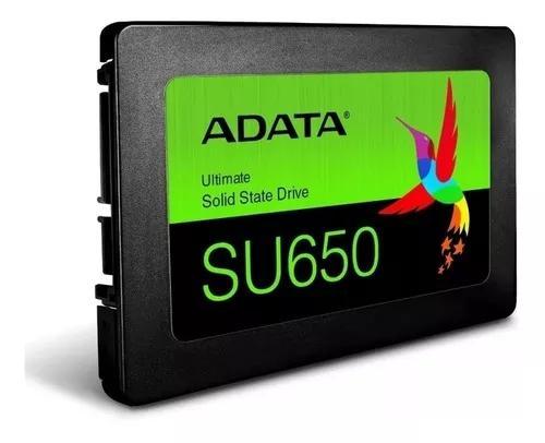 Ssd Adata Su650 2.5'' 120gb Sata 6 Gb/s 520/450 Mb/s