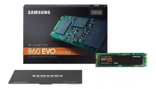 Ssd Hd M.2 M2 Samsung 860 Evo 500gb 3d Nand Sata