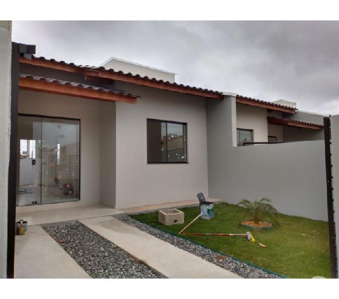 Casa nova pronta para morar e perto do centro da cidade