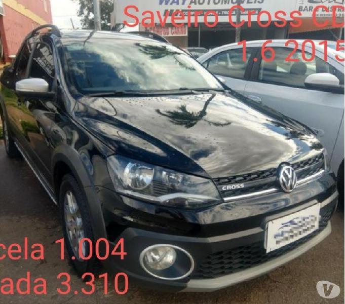 Saveiro Cross cab dupla 2015 1.6