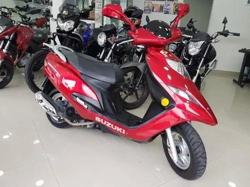 Suzuki Burgman 125i 2012 Vermelha 22000 Km