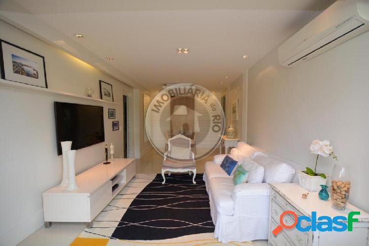 Apartamento 117 m², 2 quartos, Waterways - Barra da Tijuca
