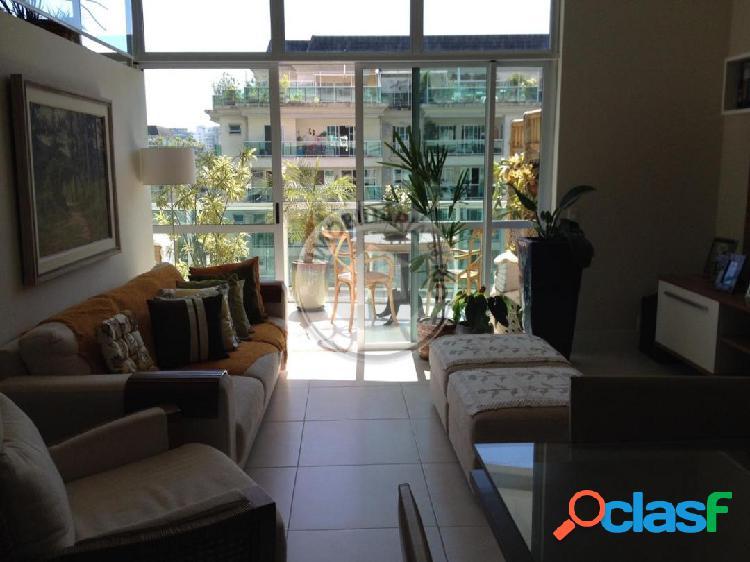 Apartamento 120m², 2 quartos, Le Parc - Barra da Tijuca