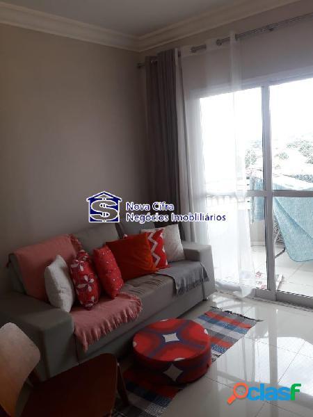 Belo Apartamento 2 Dorms (1 suíte) no Pq. Industrial -