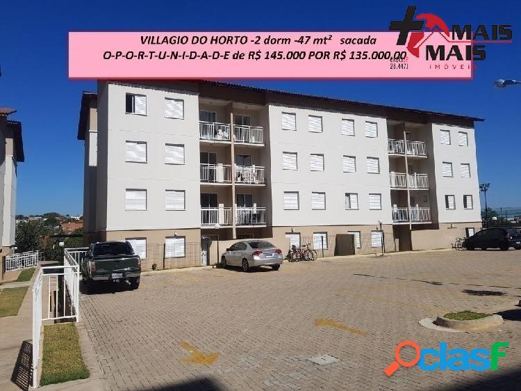 Villagio do Horto - apartamento de 2 dorm 47 mt² - Abaixou