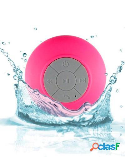 mini caixa de som rosa personalizada