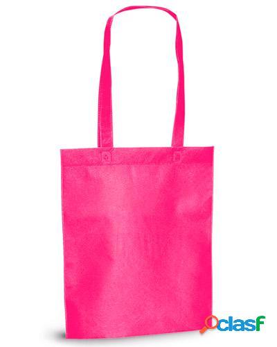 sacolas de tnt rosa personalizadas