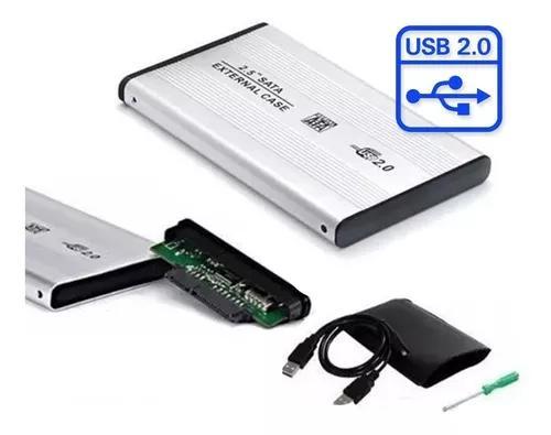Case Hd 2.5 Alumínio Ssd Xbox One Ps4 2.5 T30 - Promoção