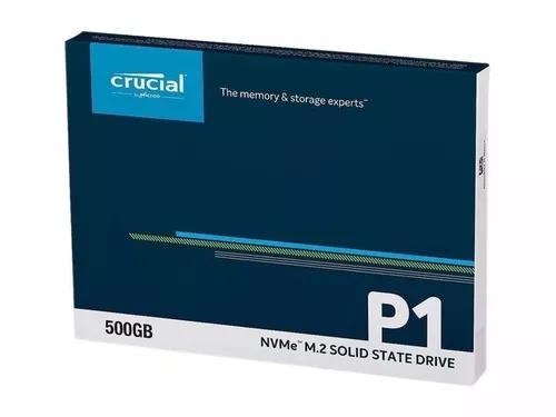 Crucial P1 Ssd M.2 2280 500gb Pcie Nvme
