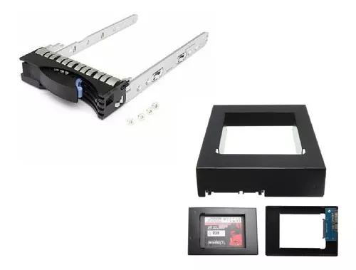 Gaveta Servidor Ibm 3,5 X3500 X3650 M2 M3 + Adaptador Ssd