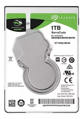 Hd 1tb Notebook Seagate Barracuda Sata 3 Xbox One 360 Ps4-3