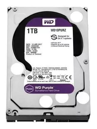 Hd Interno Wd Purple 1tb Sata Purple