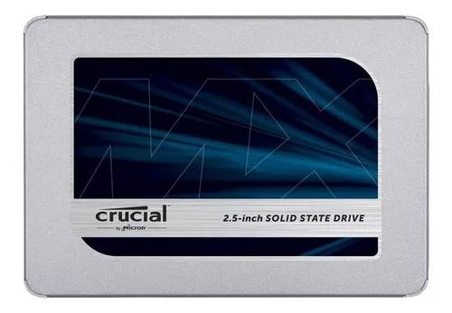 Ssd Sata 6gbs 250gb Leitura 560mb/s, 510mb/s Crucial Mx500