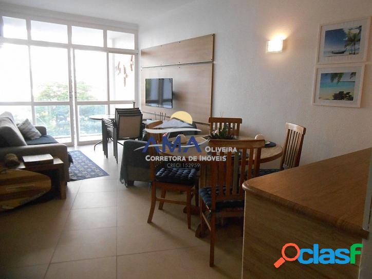 3 dormitórios Pitangueiras, Prédio frente ao mar