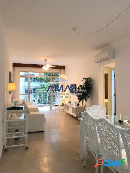 Apartamento 2 dormitórios Pitangueiras Reformado, 50 metros