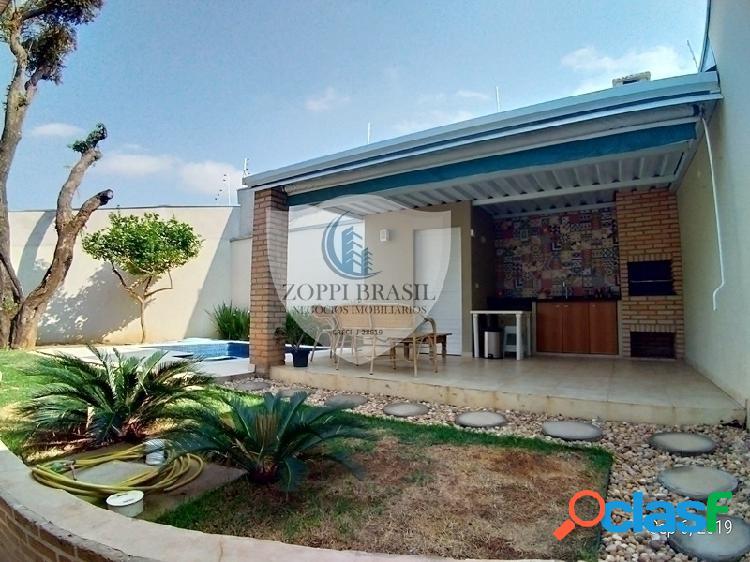 CA856 - Casa em Condomínio à venda em Americana, Parque