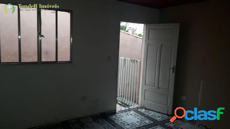 Casa 3 cômodos para locação - Sitio Bela Vista/Mauá