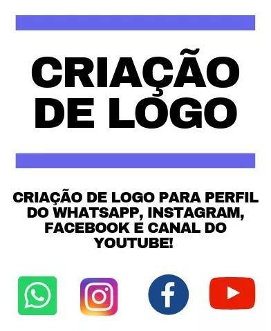 Criação De Logomarca Para Perfis De Redes Sociais