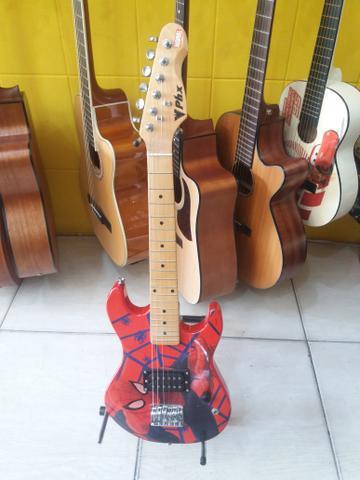 Guitarra infantil PHX Homem aranha