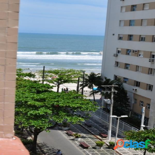 Kitnet com vista para o Mar! calçadão Pitangueiras Guaruja