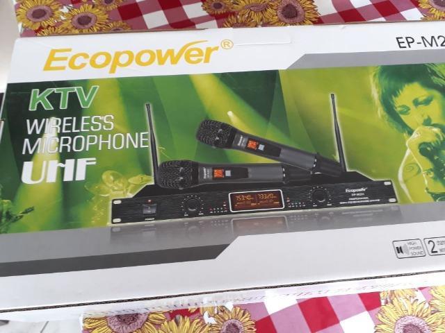 Microfone sem Fio Ecopower Profissional novo original