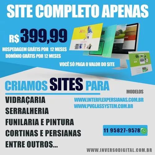 Os Sites Mais Baratos De São Paulo - Criação De Sites.