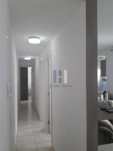 Apartamento no condomínio vitta com 3 dormitórios para