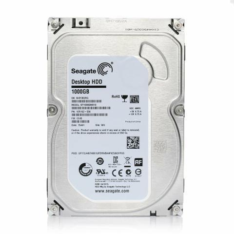Hd 1TB Seagate, para PC ou DVR, lacrado de fabrica, original