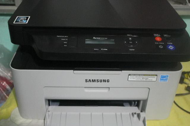 Impressora Laser Multifuncional Samsung M2070 Pouco Uso + 2