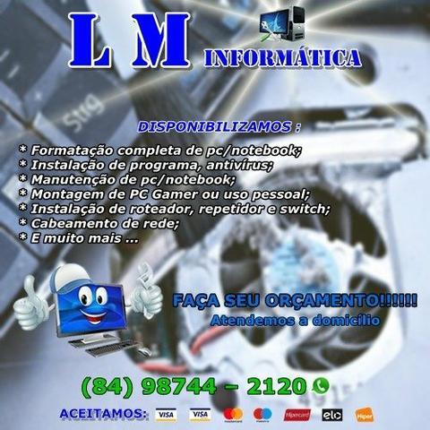 LM Informática - Formatação E Manutenção