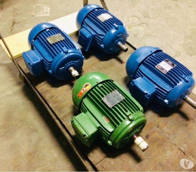 Lote Motores Elétricos Weg Revisados 4 Cv E 5 Cv Trifásico