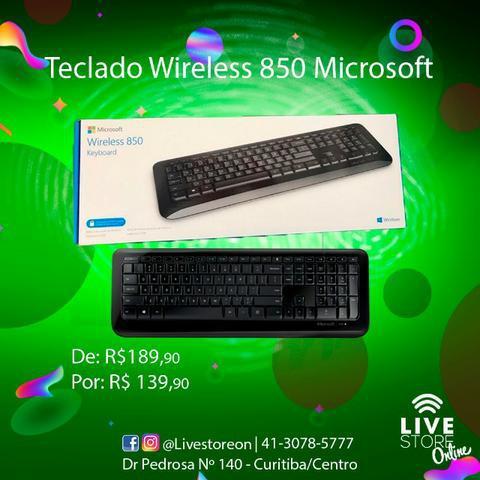 Teclado Microsoft Wireless 850