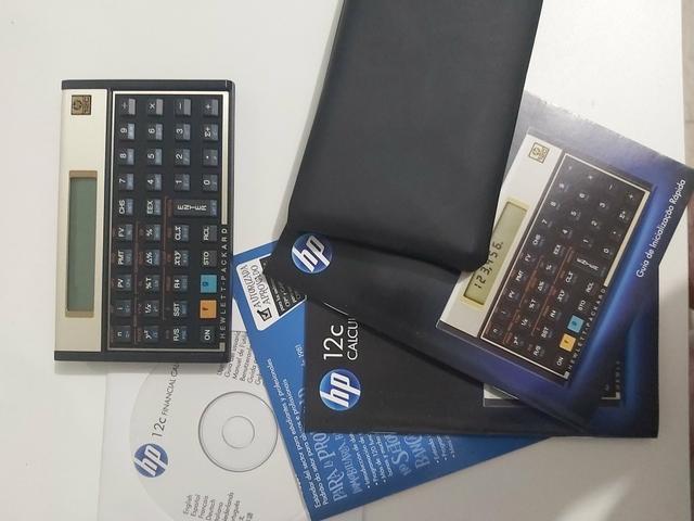 Vende calculadora HP 12c
