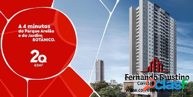 Ap. 02 Qts 01 Suíte - Pedro Ludovico - Goiânia GO