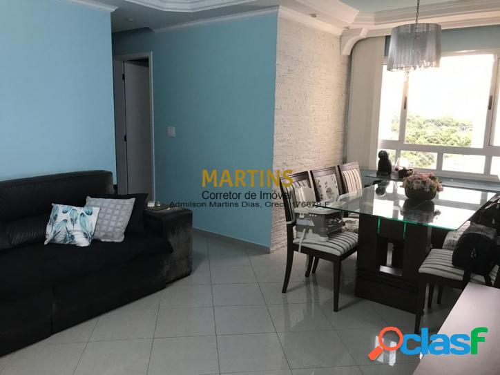 Apartamento de 75 m² - 3 Dormitórios - Colinas do Parahyba
