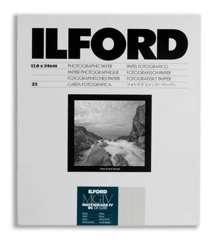 Papel Fotográfico Ilford Multigrade 18x24cm 25 Folhas