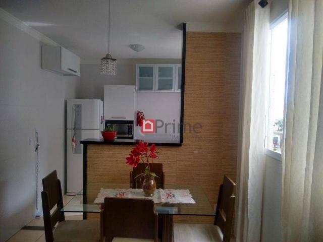 Apartamento com 2 dormitórios mobiliado para alugar por r$