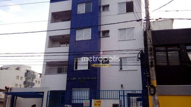 Apartamento com 2 dormitórios para alugar, 90 m² por r$