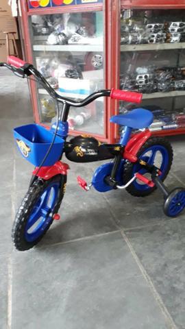 Bicicleta aro 12 infantil masculina (produto novo)